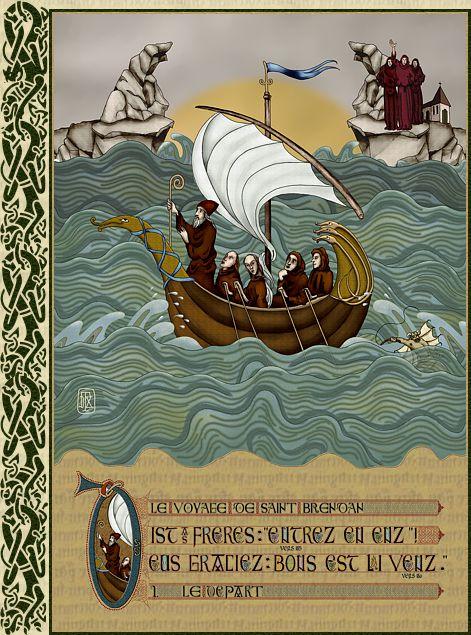 Excursions en Irlande catholique - Histoire - Foi Chrétienne - Moeurs et Traditions 01departbr